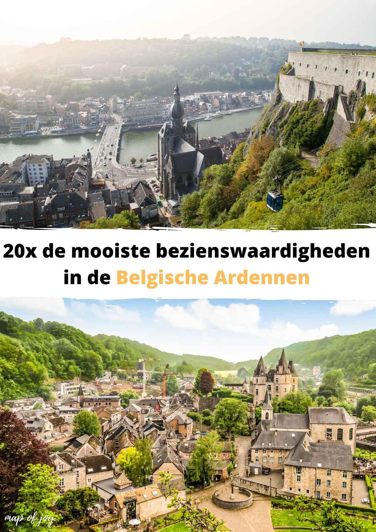 20x de mooiste bezienswaardigheden in de Belgische Ardennen