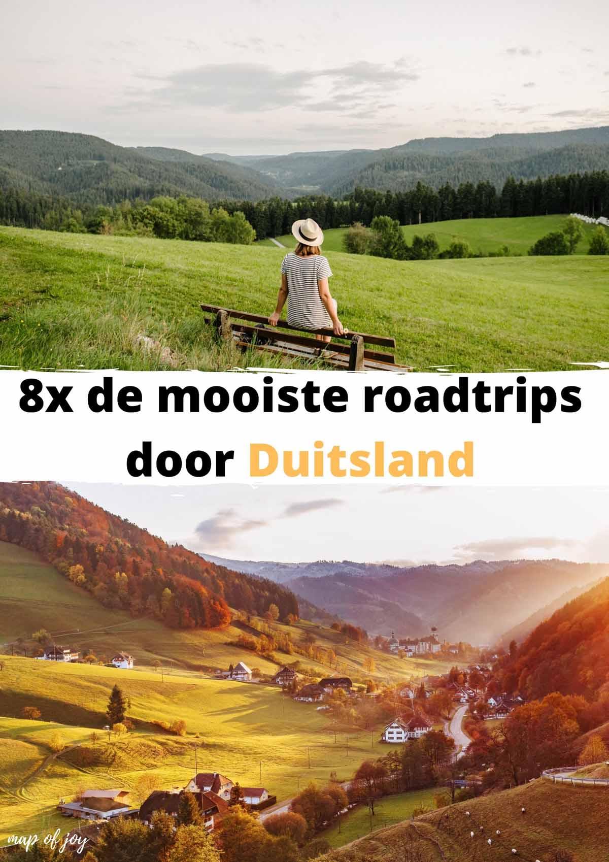 8x de mooiste roadtrips door Duitsland