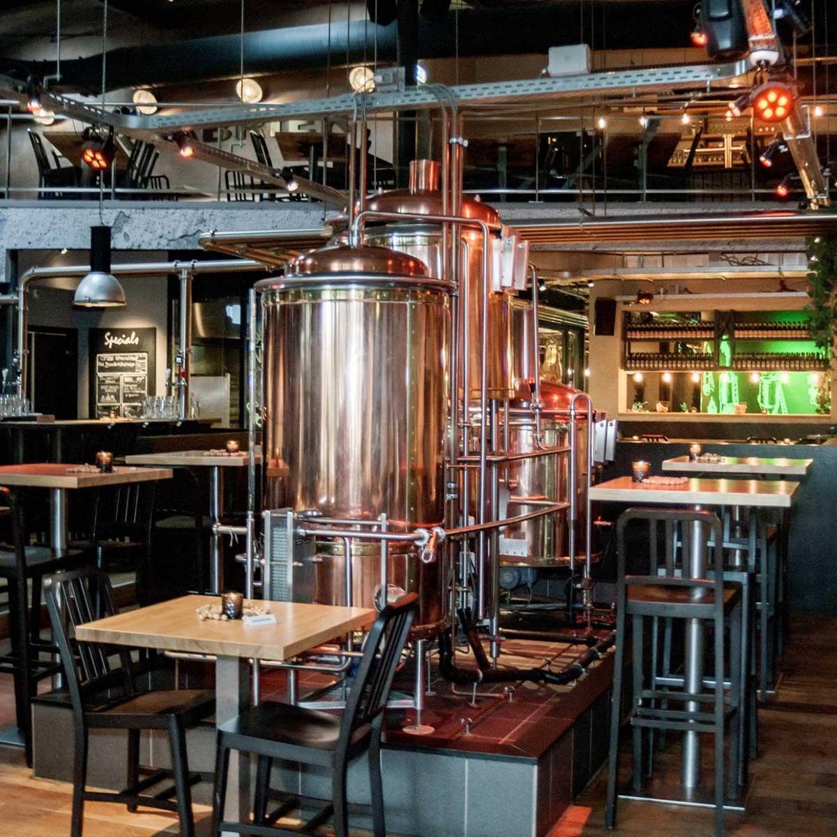 eten en drinken in Almere-Centrum, De Bierfabriek