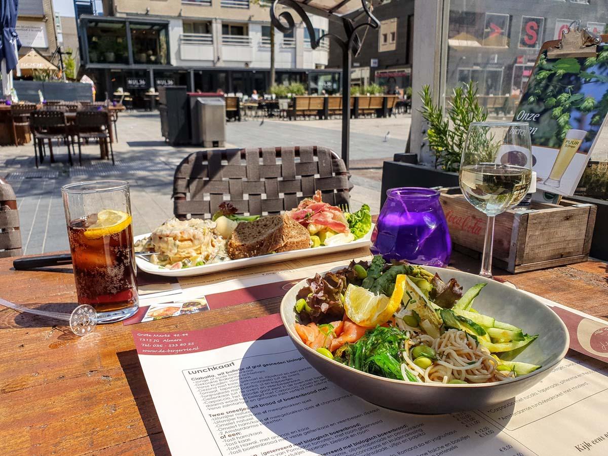 eten en drinken in Almere-Centrum, Brasserij Bergerrie
