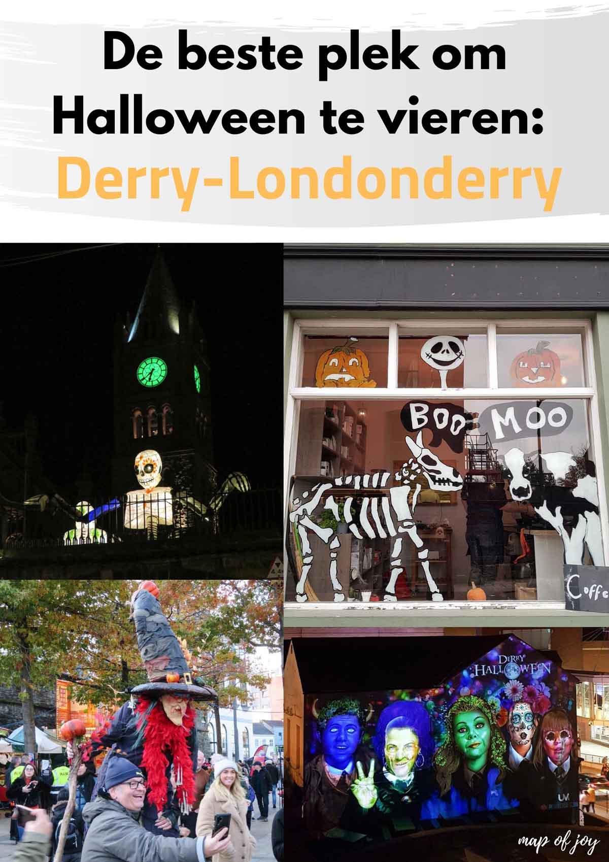 De beste plek om Halloween te vieren: Derry-Londonderry - Map of Joy
