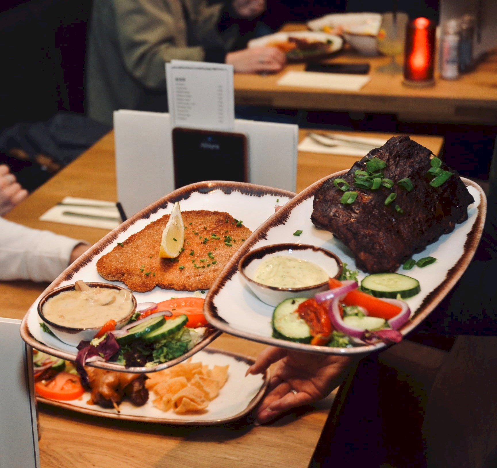 eten en drinken in Almere-Centrum, Brasserie La Maison