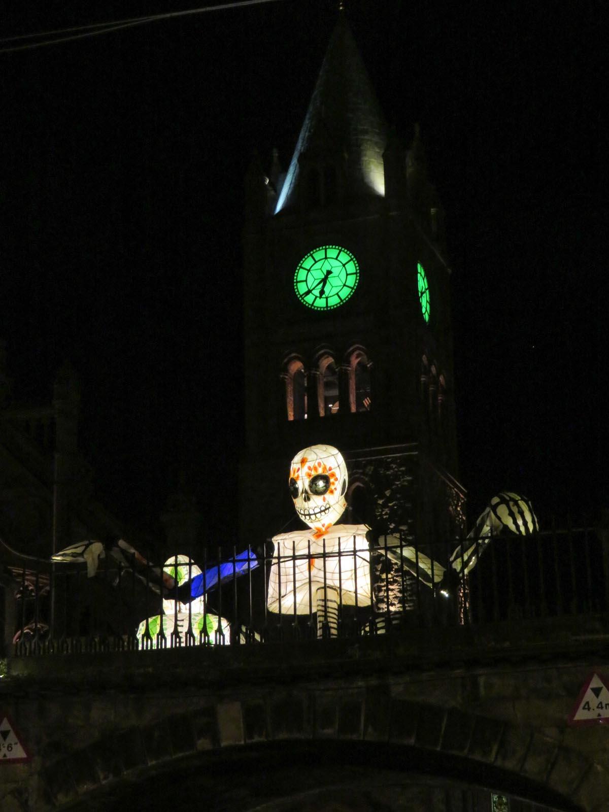 Halloween vieren in Derry, Noord-Ierland