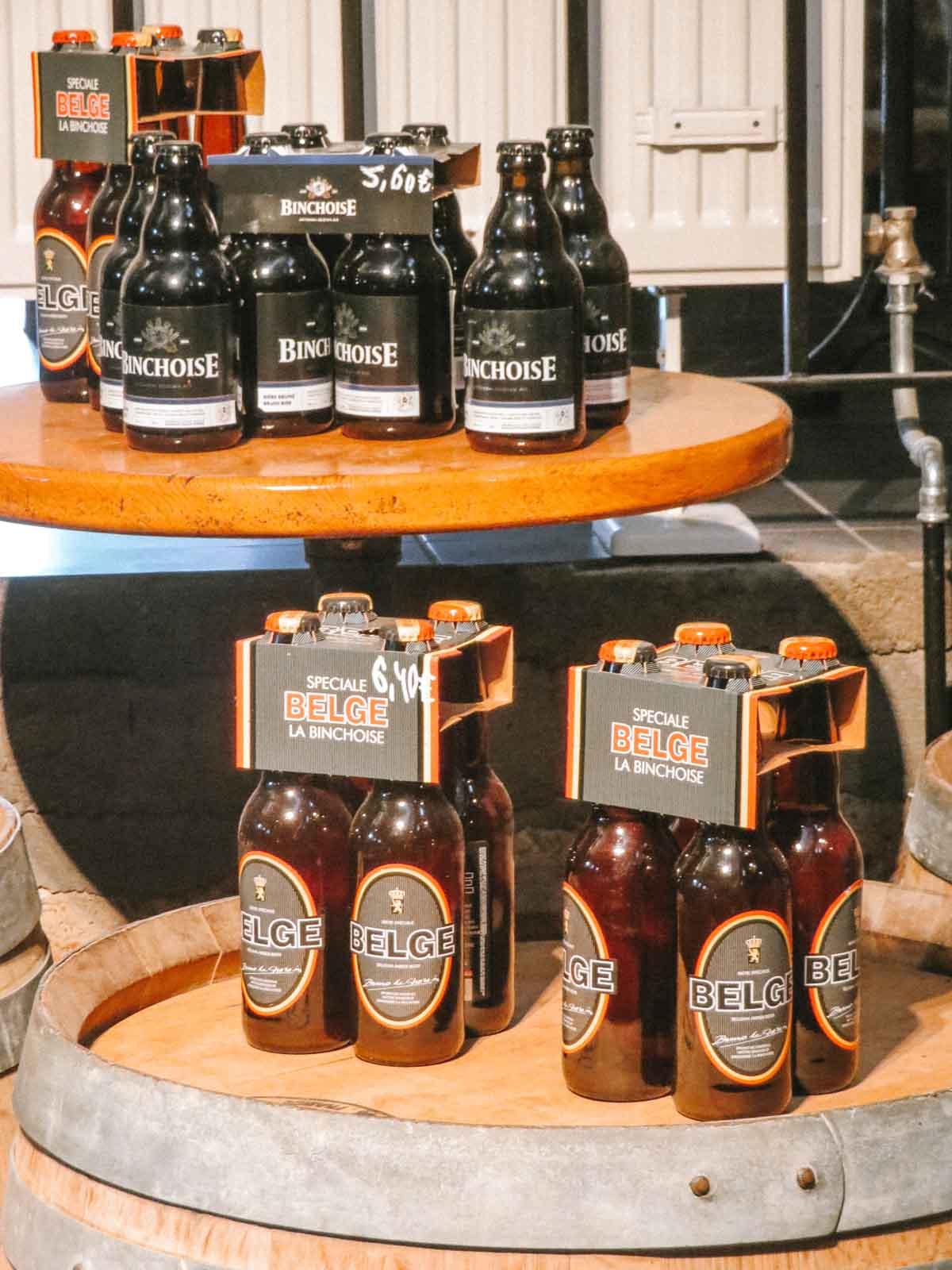Brasserie La Binchoise biertjes