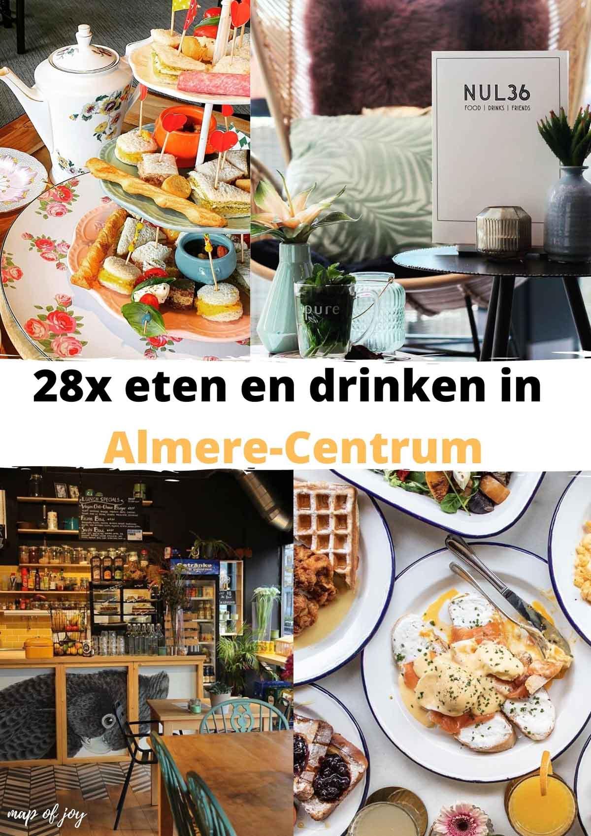 eten en drinken in Almere-Centrum