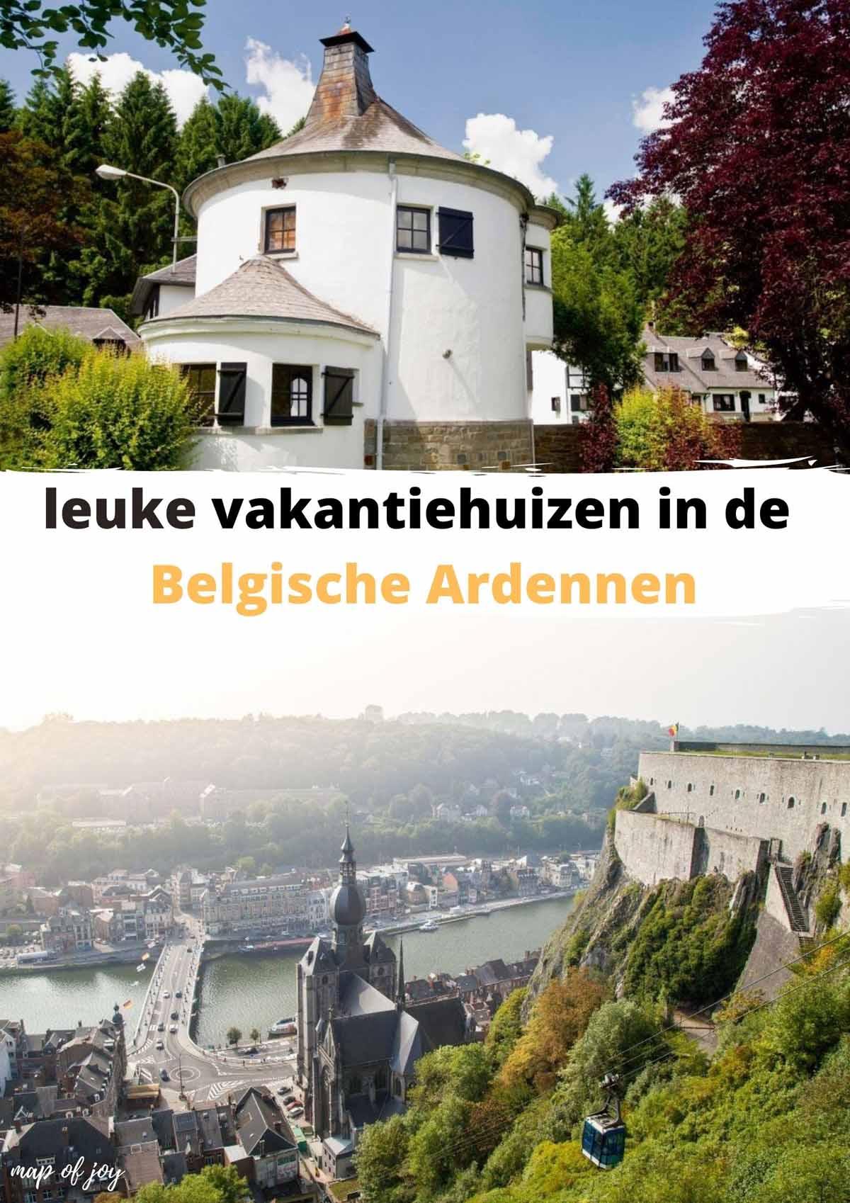 leuke vakantiehuizen in de Belgische Ardennen
