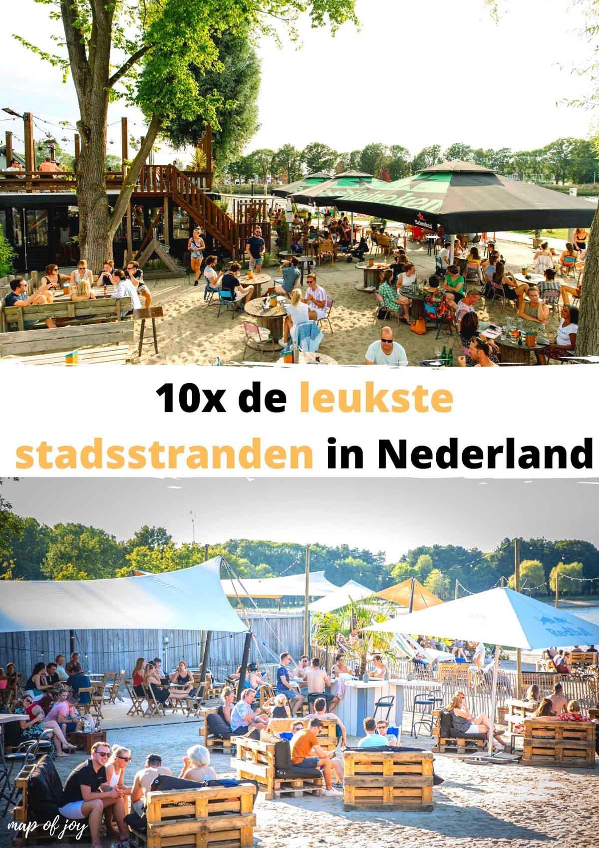 De leukste stadsstranden in Nederland