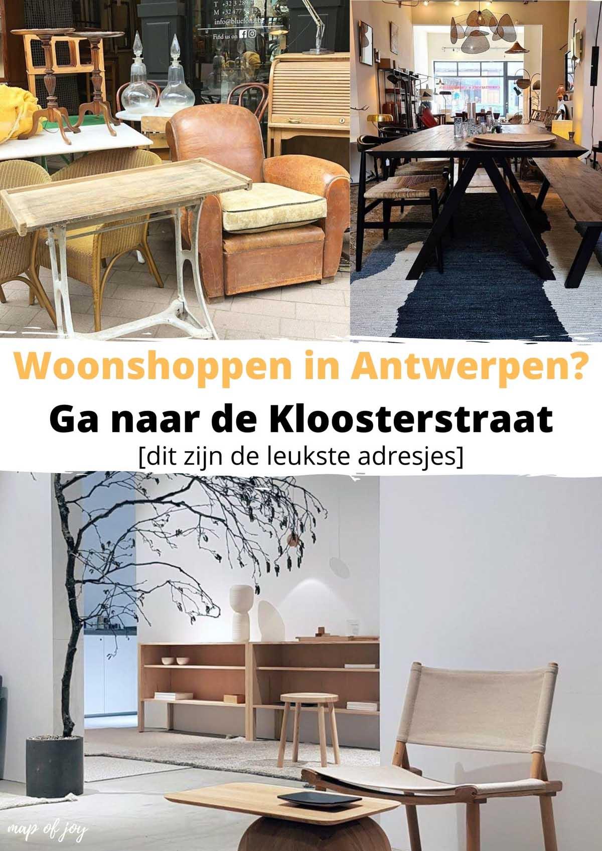 Woonshoppen in Antwerpen? Ga naar de Kloosterstraat [dit zijn de leukste adresjes]