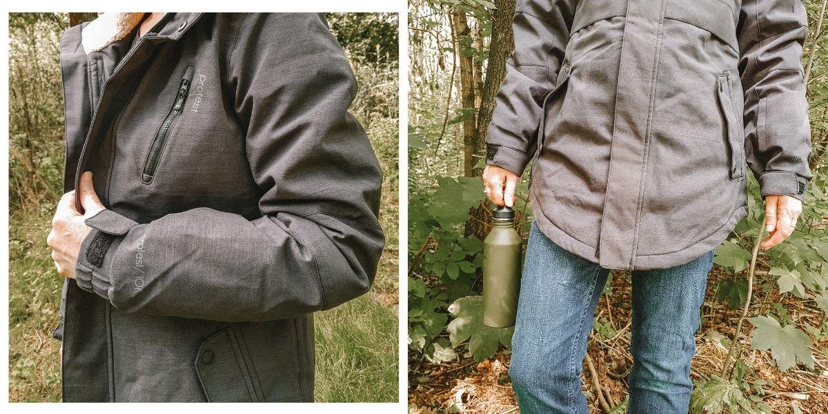 Outdoor kleding van Protest [review + een kortingscode]
