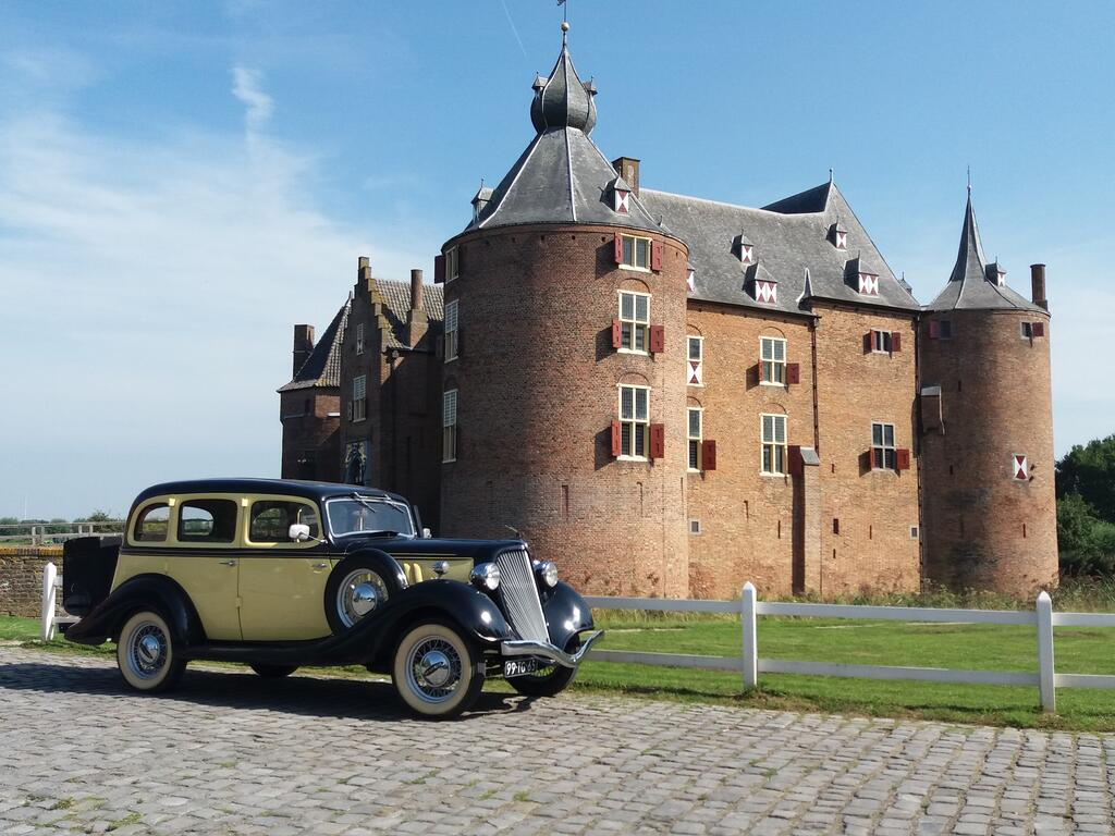 de mooiste kastelen in Nederland die je kunt bezoeken, Ammersoyen