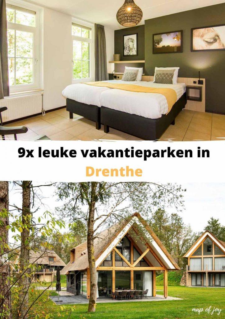 9x leuke vakantieparken in Drenthe