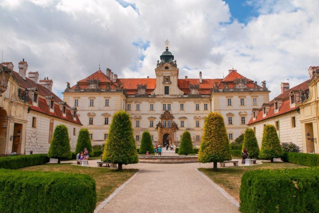 Chateau Valtice in Moravië