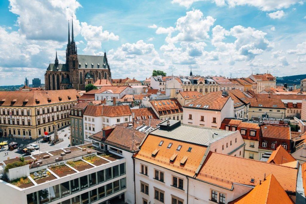 Brno in Moravië